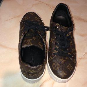 LV Monogram sneakers